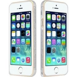 Бампер iPhone 5/5S iBacks Arc-shaped Venezia Bumper Silver