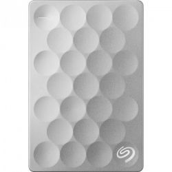 Внешний жёсткий диск SEAGATE 1Tb Backup Plus Ultra Slim STEH1000200 USB3.0 Platinum