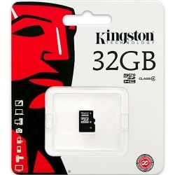 Карта памяти microSDHC 32GB KINGSTON CLASS4