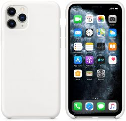 Чехол iPhone 11 Pro Silicone Case - White Белый