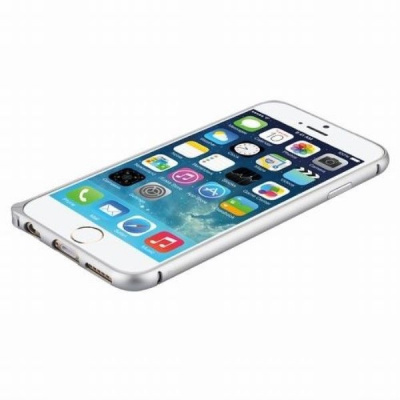 Бампер iPhone 6/6S Plus Baseus Beauty arc Sliver bumper