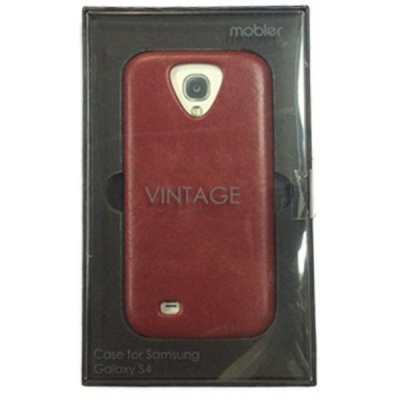 Накладка Samsung S4 I9500  Mobler Back cover Vintage collection красн