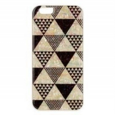 Накладка iPhone 5/5S inmook Real pearl pyramid White