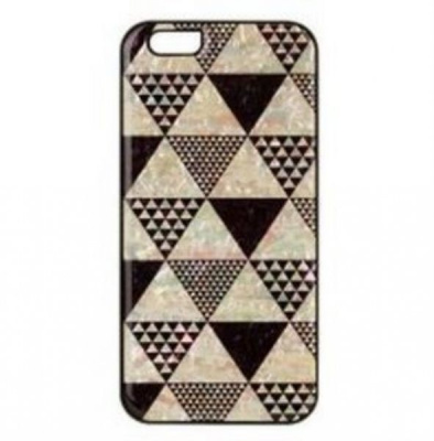 Накладка iPhone 5/5S inmook Real pearl pyramid Black