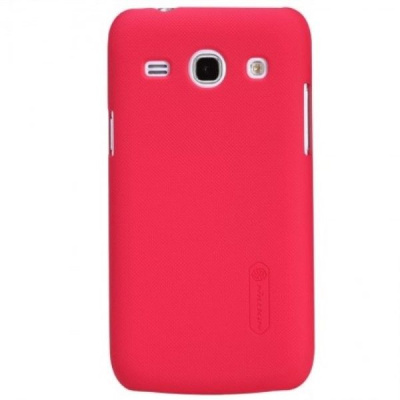 Накладка Samsung Trend 3 G3502 Nillkin Super frosted red